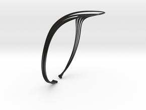Vilni Necklace - Kukla collection in Black Natural Versatile Plastic
