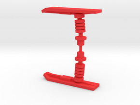 Solarion Ski in Red Processed Versatile Plastic: Medium