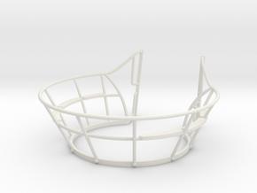 1/32 U Boot VII C Wintergarten in White Natural Versatile Plastic