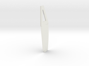 mm keel 2 in White Natural Versatile Plastic