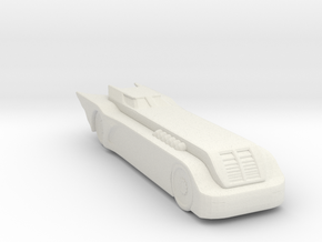 BATMOBILE THE ANTIMATED SERIES 160 scale in White Natural Versatile Plastic