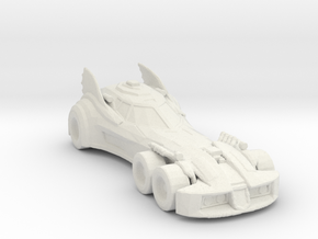 BATMOBILE INJUSTANCE 160 scale in White Natural Versatile Plastic
