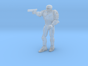 Robocop Figure 3.0 inches Tall in Smooth Fine Detail Plastic