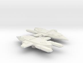 3125 Scale Orion Light Raiders (2) CVN in White Natural Versatile Plastic