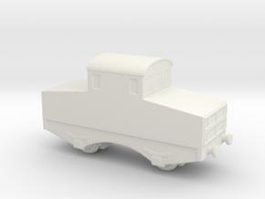 alvf ww1 armoured loco 1/200  in White Natural Versatile Plastic