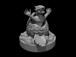 Baby Dragonborn in Smooth Fine Detail Plastic