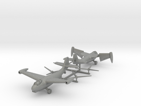 (1:144)(x2) Weserflug P.1003/1 (Two modes) + Props in Gray PA12