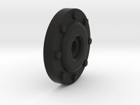 Disk-Winch in Black Natural Versatile Plastic