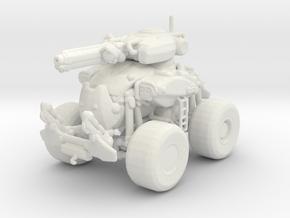 Gears of War Centaur 1/60 miniature for games rpg in White Natural Versatile Plastic