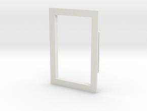 03 Window Frame in White Natural Versatile Plastic