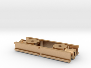 Crossheads for 1:32 scale Live steam (Gauge 1) in Natural Bronze