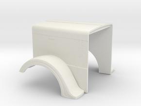 1/16 scale peterbilt optimus prime hood part in White Natural Versatile Plastic