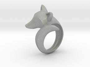 Stylish decorative fox ring in Aluminum