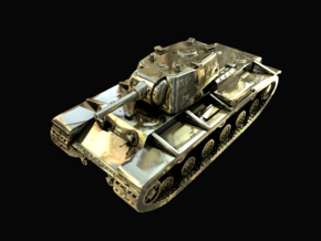 Tank - KV-1 - size Large in Polished Brass