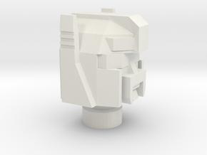 Rollbarhead.2 in White Natural Versatile Plastic