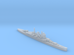 IJN Kumano cruiser 1940 1:1800 WW2 in Smoothest Fine Detail Plastic