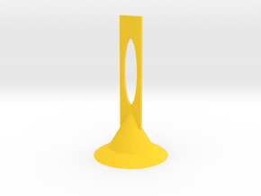 MiniMic 2+ Stand v.2 in Yellow Processed Versatile Plastic