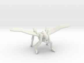 Starship Troopers Hopper Bug 1/60 for games - rpg in White Natural Versatile Plastic