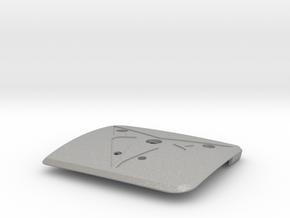 """Leon Cupra Bootlatch """"S"""" Badge - Mount Part in Aluminum"""