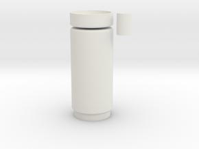 Motorcover9 Thread in White Natural Versatile Plastic