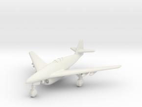 (1:200) Messerschmitt Me 262 DFS design (11/42) in White Natural Versatile Plastic