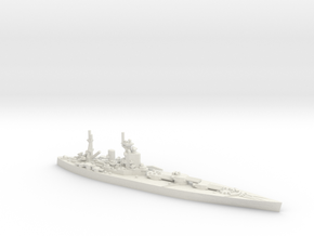 UK Nelson-class Battleship in White Natural Versatile Plastic