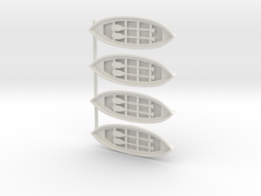Special Lifeboats in White Natural Versatile Plastic