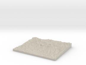 Model of Machhapuchchhre9 in Natural Sandstone