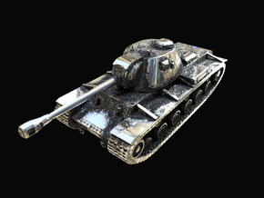 Tank - KV-3 - size Large in Antique Silver