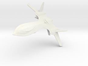 X-Men Jet (Blackbird) 1/144 in White Natural Versatile Plastic