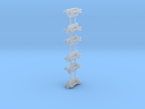 AA-8 Aphid 2-Rack in Smooth Fine Detail Plastic