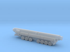 1/144 Scale Russian SS-25 RT-2PM Launcher W Missil in Smooth Fine Detail Plastic