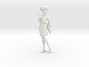 1/6 GK Figure Student in Uniform in White Natural Versatile Plastic