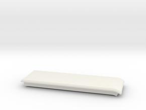 Index HMD Fan Mount (Right Cap) in White Natural Versatile Plastic