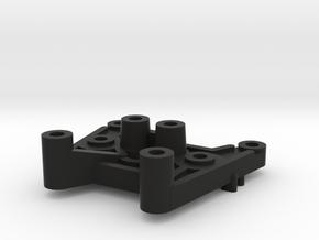 Tamiya Thundershot B12 part Rear Damper Tower in Black Natural Versatile Plastic
