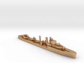 HMS Icarus destroyer 1:1200 WW2 in Natural Bronze