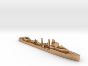 HMS Ilex destroyer 1:1200 WW2 in Natural Bronze