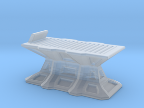 Medic bed 1/144 scale in Smooth Fine Detail Plastic