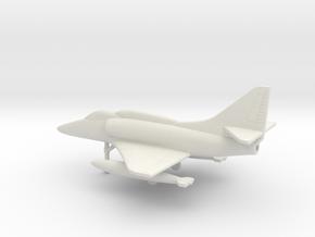 Douglas A-4F Skyhawk in White Natural Versatile Plastic: 1:200