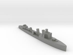 Italian Nembo destroyer WW2 1:3000 in Gray PA12