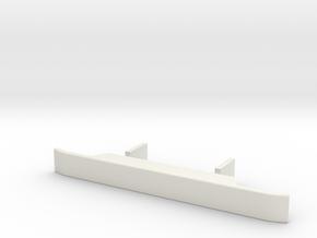 Bumper-1to16 in White Natural Versatile Plastic