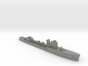 Italian Cassiopea Torpedo boat 1:2400 WW2 in Gray PA12