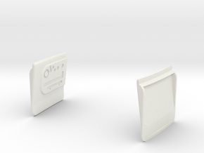 Door-panels-1to16 in White Natural Versatile Plastic