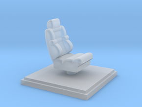 pilots-chair in Smooth Fine Detail Plastic