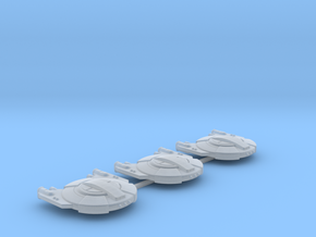 3788 Scale Andromedan Gun Sleds (3) SRZ in Smooth Fine Detail Plastic