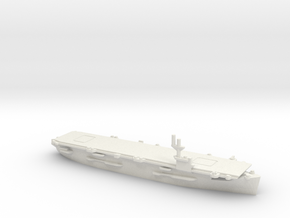 US Bogue-Class Aircraft Carrier in White Natural Versatile Plastic