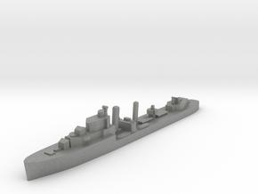HMS Ivanhoe destroyer 1:1200 WW2 in Gray PA12