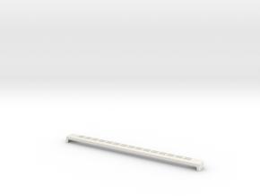 ListwaDrzwi600 PA Czarna 1xSztuki in White Natural Versatile Plastic