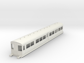 0-43-gcr-railcar-conv-pushpull-coach in White Natural Versatile Plastic
