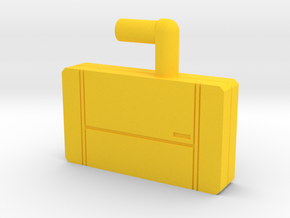 Transformers Titans Return Time Travel Briefcase  in Yellow Processed Versatile Plastic
